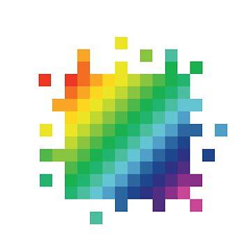 Bitmap Rainbow by venitakidwai1