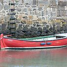 Red Boat, Portsoy by Jennifer J Watson