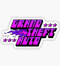 GTA PURPLE  Sticker