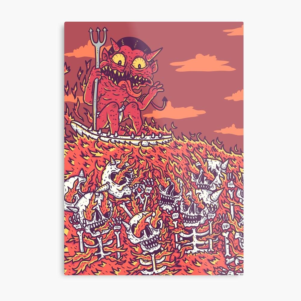 hellsurf Metal Print