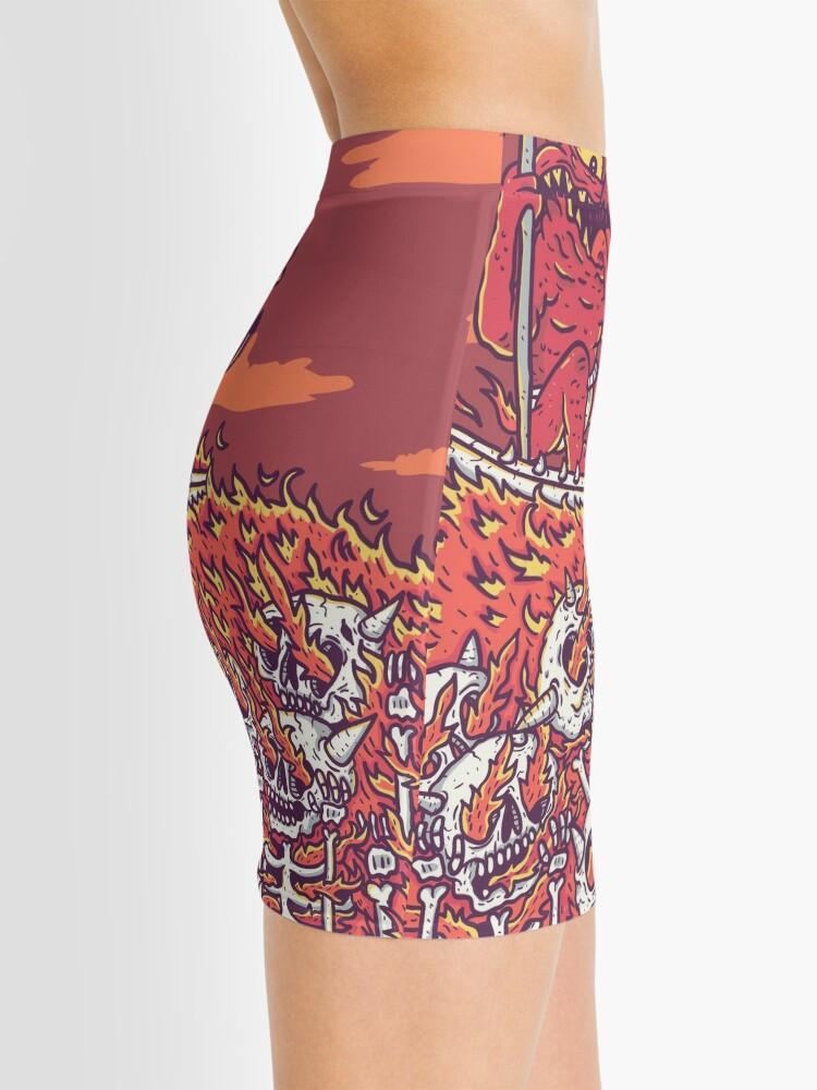 Alternate view of hellsurf Mini Skirt