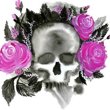 Skull of Love by shimmysharoo