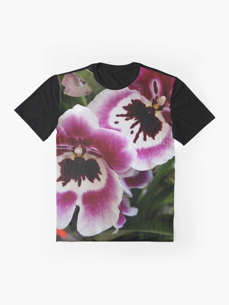 Alternate view of Orchids Graphic T-Shirt