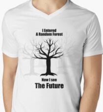 Random Forest Machine Learning : See The Future Men's V-Neck T-Shirt
