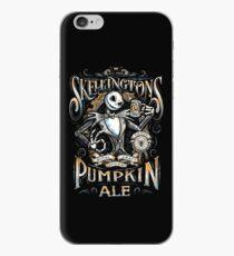 Nightmare Before Christmas - Skellingtons Pumpkin Ale iPhone Case