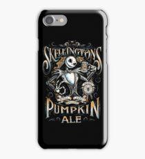Nightmare Before Christmas - Skellingtons Pumpkin Ale iPhone Case/Skin