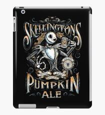 Nightmare Before Christmas - Skellingtons Pumpkin Ale iPad Case/Skin