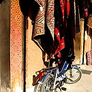 bike and rugs marrakech by AliceFrench7