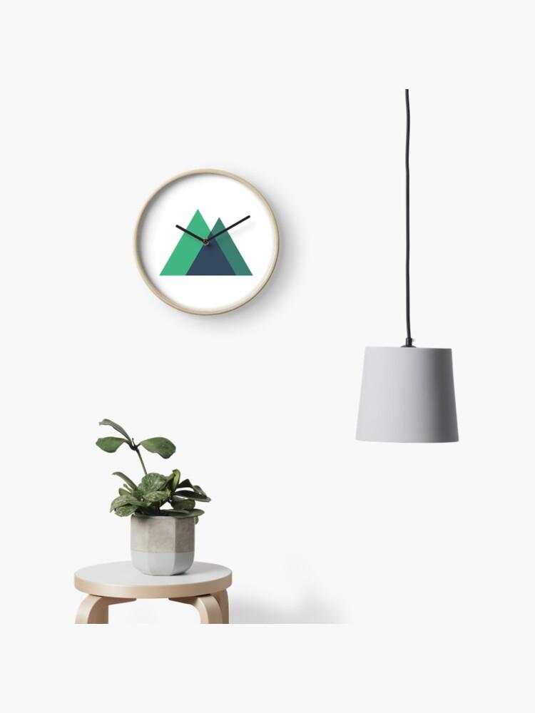 Nuxt js Logo   Clock