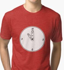 Point at the hour Tri-blend T-Shirt