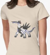 Fake Shiny Dialga (Ghost/Steel) Womens Fitted T-Shirt
