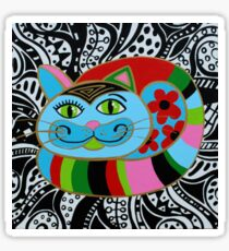 Color kitty Sticker