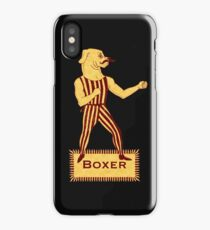 Boxer Dog Bonzo Bones iPhone Case