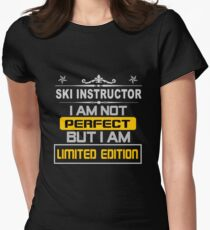 SKI INSTRUCTOR LIMITED EDITION Women's Fitted T-Shirt