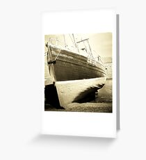 Da Boat Greeting Card