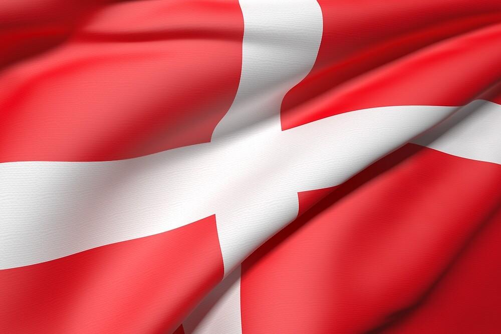 Denmark flag by erllre74