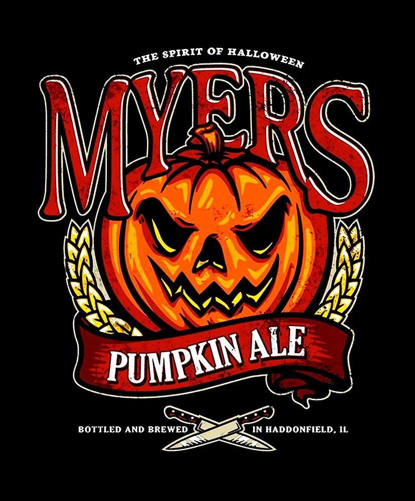 Halloween - Myers Ale by UnconArt