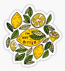 I'm Not Bitter Marker Illustration Sticker