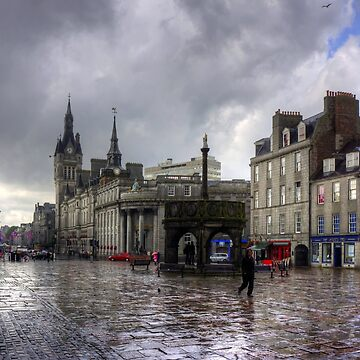 Aberdeen in the rain by tomg