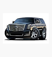 Cartoon luxury SUV Photographic Print