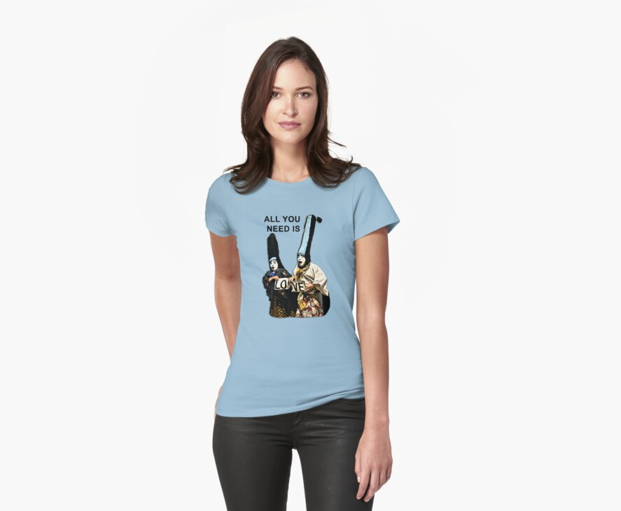 All You Need Is Love Tee by Scott Ruhs