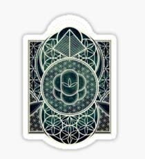 Ultra Sacred Geometry - Dark Sticker