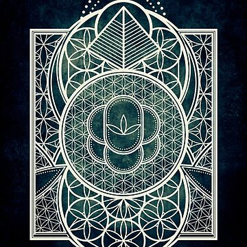 Ultra Sacred Geometry - Dark by RAFAROMAN
