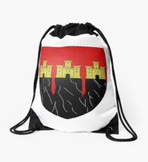 Saignon, France Drawstring Bag