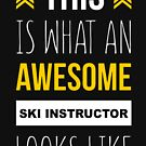 SKI INSTRUCTOR AWESOME LOOK LIKE by andersonfry