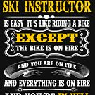 SKI INSTRUCTOR EXCEPT MUCH COOLER by andersonfry