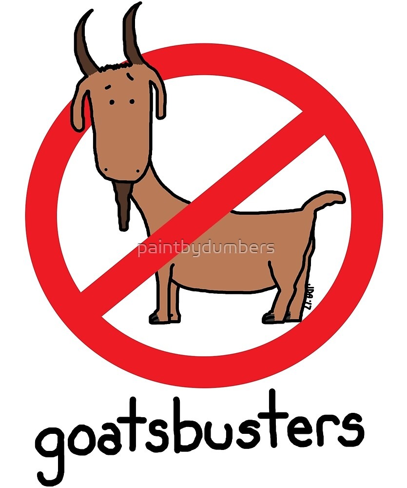 goatsbusters by paintbydumbers