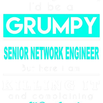 SENIOR NETWORK ENGINEER GRUMPY by thomasride