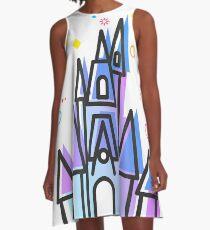 Magic Fairytale Princess Castle Kingdom A-Line Dress