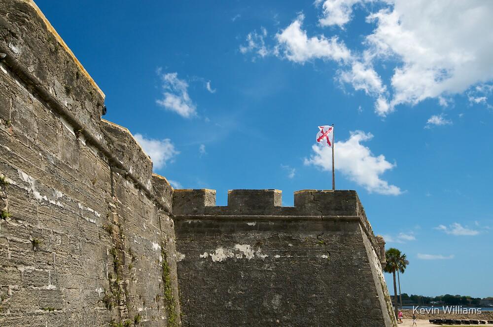 castillo de San Marcos by Kevin Williams