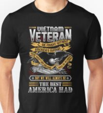 Vietnam Veteran We Fought Without America's Support  Unisex T-Shirt