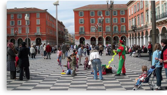 Place Masséna  by daffodil