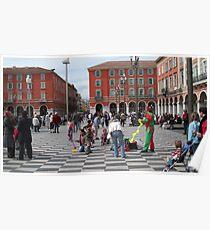 Place Masséna  Poster