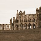 Abbey in Sepia by BigAl1