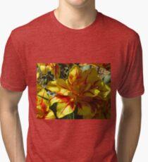 Yellow And Orange Brilliance Tri-blend T-Shirt