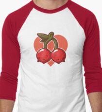 Cherry Cats Men's Baseball ¾ T-Shirt