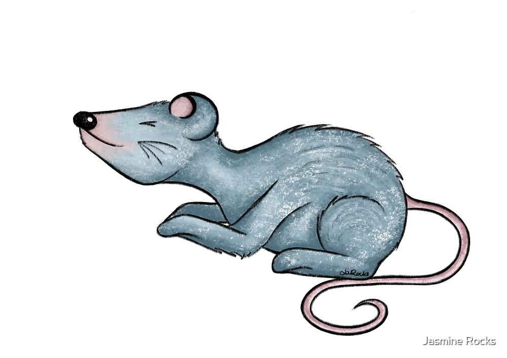 Little Mouse / Rocksie Doodles  by Jasmine Rocks