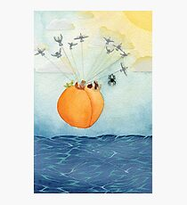 James and the Giant Peach Photographic Print