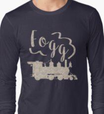 Around the World in 80 Days - Fogg Train Long Sleeve T-Shirt