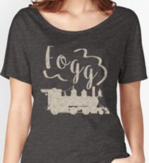 Around the World in 80 Days - Fogg Train Women's Relaxed Fit T-Shirt