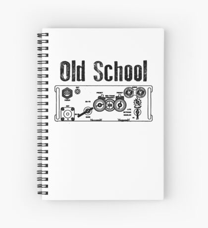 Old School PRC 77 Spiral Notebook