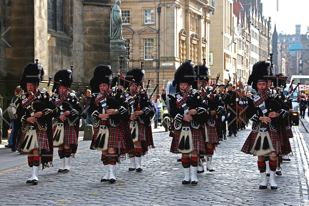 Pipes and Drums by Tom Gomez
