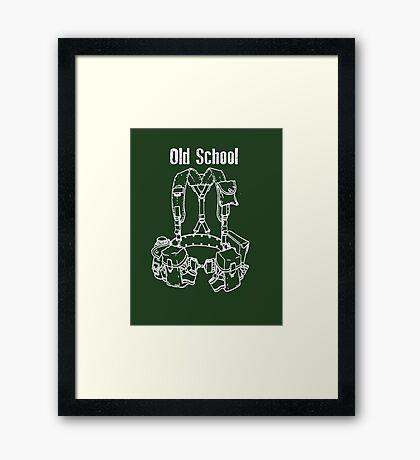 Old School LBE Framed Print