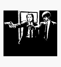 Pulp Fiction Vincent and Jules Photographic Print
