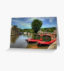 Rosie and Jim Greeting Card