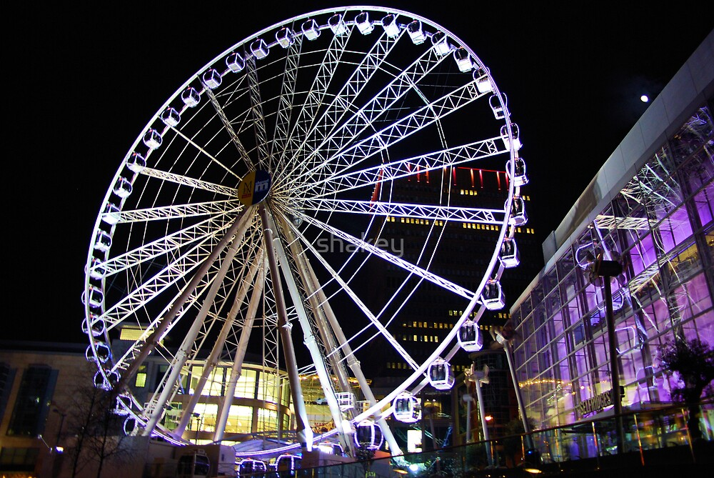 Wheel of Manchester by shakey